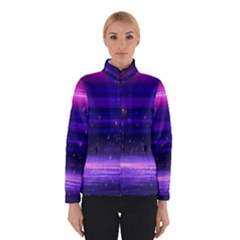 Space Planet Pink Blue Purple Winterwear