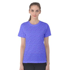 Ripples Blue Space Women s Cotton Tee