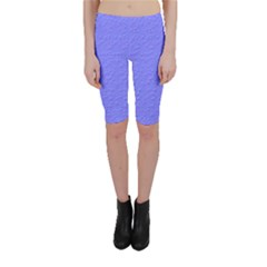Ripples Blue Space Cropped Leggings