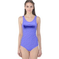 Ripples Blue Space One Piece Swimsuit
