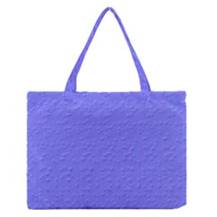 Ripples Blue Space Medium Zipper Tote Bag