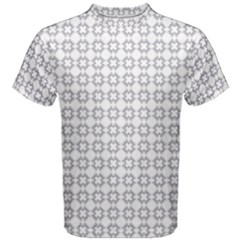 Violence Head On King Purple White Flower Men s Cotton Tee