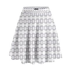 Violence Head On King Purple White Flower High Waist Skirt