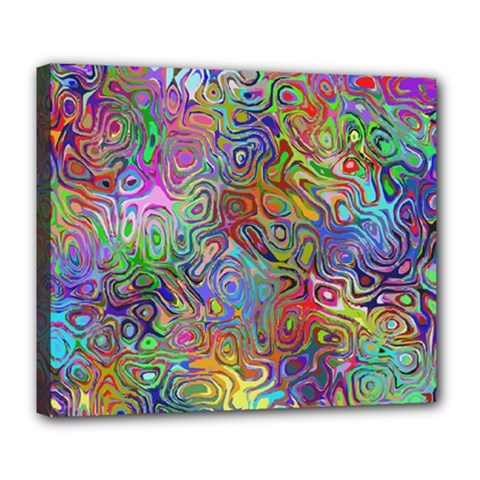 Glass Rainbow Color Deluxe Canvas 24  x 20