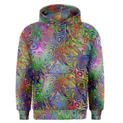 Glass Rainbow Color Men s Pullover Hoodie