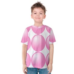Circle Pink Kids  Cotton Tee