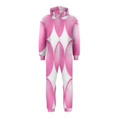 Circle Pink Hooded Jumpsuit (Kids)