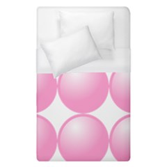 Circle Pink Duvet Cover (single Size)