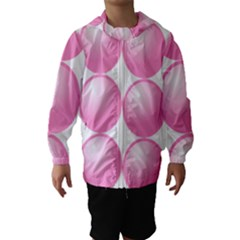 Circle Pink Hooded Wind Breaker (Kids)