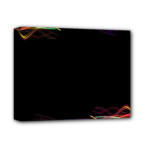 Colorful Light Frame Line Deluxe Canvas 14  x 11