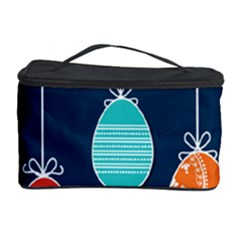 Easter Egg Balloon Pink Blue Red Orange Cosmetic Storage Case
