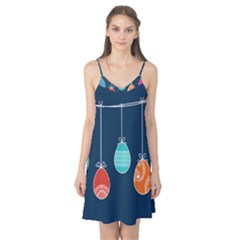 Easter Egg Balloon Pink Blue Red Orange Camis Nightgown