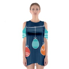 Easter Egg Balloon Pink Blue Red Orange Shoulder Cutout One Piece