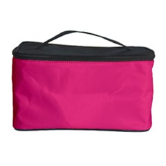 Flag Color Pink Blue Cosmetic Storage Case