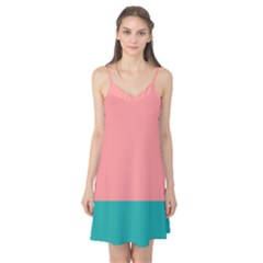 Flag Color Pink Blue Line Camis Nightgown