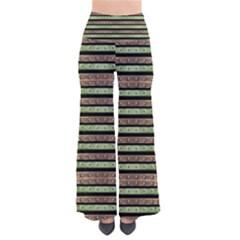 Camo Stripes Print Pants