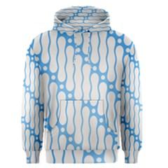 Batik Pattern Men s Pullover Hoodie