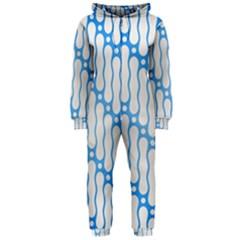Batik Pattern Hooded Jumpsuit (Ladies)