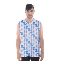 Batik Pattern Men s Basketball Tank Top