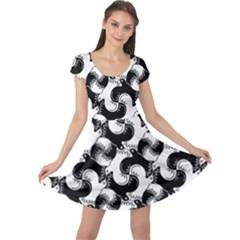 Birds Flock Together Cap Sleeve Dresses
