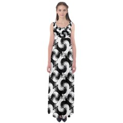 Birds Flock Together Empire Waist Maxi Dress