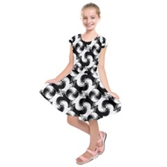 Birds Flock Together Kids  Short Sleeve Dress