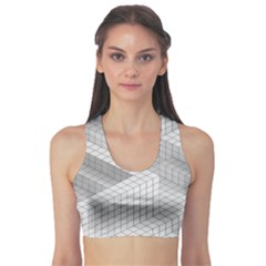Design Grafis Pattern Sports Bra