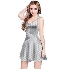 Design Grafis Pattern Reversible Sleeveless Dress