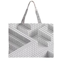 Design Grafis Pattern Large Tote Bag