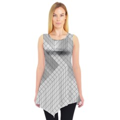 Design Grafis Pattern Sleeveless Tunic