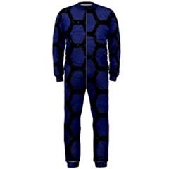 HXG2 BK-MRBL BL-LTHR (R) OnePiece Jumpsuit (Men)