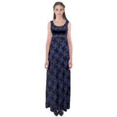 HTH2 BK-MRBL BL-LTHR Empire Waist Maxi Dress