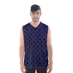 CIR3 BK-MRBL BL-LTHR Men s Basketball Tank Top