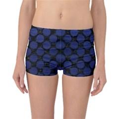 CIR2 BK-MRBL BL-LTHR Boyleg Bikini Bottoms