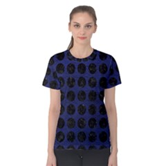 CIR1 BK-MRBL BL-LTHR (R) Women s Cotton Tee