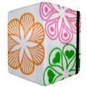 Flower Floral Love Valentine Star Pink Orange Green Apple iPad 2 Flip Case View4