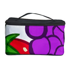 Fruit Grapes Strawberries Red Green Purple Cosmetic Storage Case