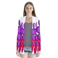 Fruit Grapes Strawberries Red Green Purple Cardigans