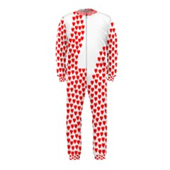 Heart Love Valentines Day Red Sign Onepiece Jumpsuit (kids)