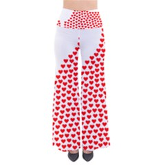 Heart Love Valentines Day Red Sign Pants