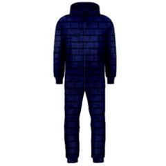 BRK1 BK-MRBL BL-LTHR (R) Hooded Jumpsuit (Men)