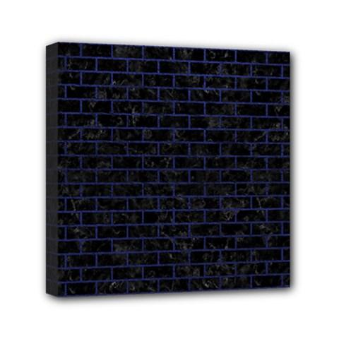 BRK1 BK-MRBL BL-LTHR Mini Canvas 6  x 6