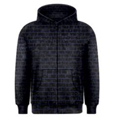 BRK1 BK-MRBL BL-LTHR Men s Zipper Hoodie