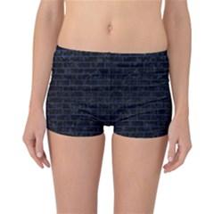 BRK1 BK-MRBL BL-LTHR Reversible Bikini Bottoms