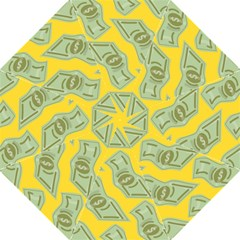 Money Dollar $ Sign Green Yellow Golf Umbrellas