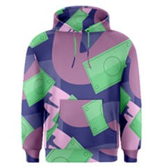 Money Dollar Green Purple Pink Men s Pullover Hoodie