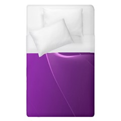 Purple Line Duvet Cover (single Size)
