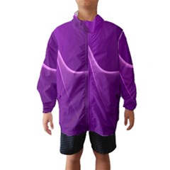 Purple Line Wind Breaker (Kids)