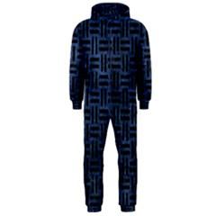 WOV1 BK-MRBL BL-STONE (R) Hooded Jumpsuit (Men)