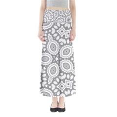 Scope Random Black White Maxi Skirts